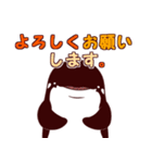 ベルカちゃんとジンくん2(個別スタンプ:04)