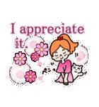 英語で伝えよう!ありがとう&感謝の気持ち(個別スタンプ:05)
