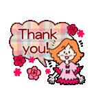 英語で伝えよう!ありがとう&感謝の気持ち(個別スタンプ:08)