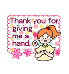 英語で伝えよう!ありがとう&感謝の気持ち(個別スタンプ:10)