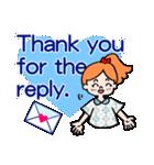 英語で伝えよう!ありがとう&感謝の気持ち(個別スタンプ:11)