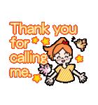 英語で伝えよう!ありがとう&感謝の気持ち(個別スタンプ:12)