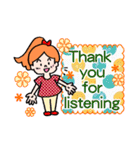 英語で伝えよう!ありがとう&感謝の気持ち(個別スタンプ:14)