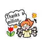 英語で伝えよう!ありがとう&感謝の気持ち(個別スタンプ:16)