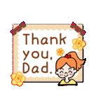 英語で伝えよう!ありがとう&感謝の気持ち(個別スタンプ:17)