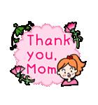 英語で伝えよう!ありがとう&感謝の気持ち(個別スタンプ:18)