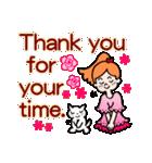 英語で伝えよう!ありがとう&感謝の気持ち(個別スタンプ:19)