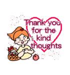 英語で伝えよう!ありがとう&感謝の気持ち(個別スタンプ:21)
