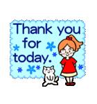 英語で伝えよう!ありがとう&感謝の気持ち(個別スタンプ:22)