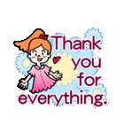 英語で伝えよう!ありがとう&感謝の気持ち(個別スタンプ:23)
