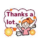 英語で伝えよう!ありがとう&感謝の気持ち(個別スタンプ:29)