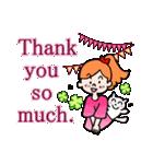 英語で伝えよう!ありがとう&感謝の気持ち(個別スタンプ:30)