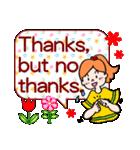 英語で伝えよう!ありがとう&感謝の気持ち(個別スタンプ:31)