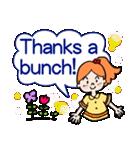 英語で伝えよう!ありがとう&感謝の気持ち(個別スタンプ:33)