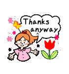 英語で伝えよう!ありがとう&感謝の気持ち(個別スタンプ:35)