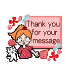 英語で伝えよう!ありがとう&感謝の気持ち(個別スタンプ:36)