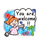 英語で伝えよう!ありがとう&感謝の気持ち(個別スタンプ:39)
