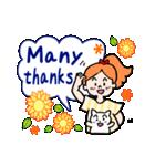 英語で伝えよう!ありがとう&感謝の気持ち(個別スタンプ:40)