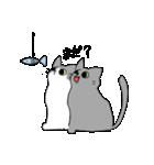 姉弟猫のスタンプ(個別スタンプ:17)