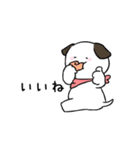 すこぶる動くちびイヌ(個別スタンプ:03)