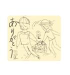 らくがき・ノート(個別スタンプ:02)