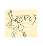 らくがき・ノート(個別スタンプ:03)