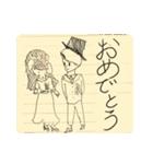 らくがき・ノート(個別スタンプ:04)