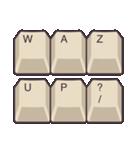 PCキーボード(英語の略語)(個別スタンプ:2)