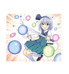 【東方Project】妖夢ちゃんスタンプ(個別スタンプ:40)
