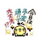 「インコちゃん」お出かけパック(個別スタンプ:23)