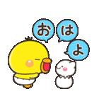 ひよこのぴっぴ【ハピバ専用スタンプ】(個別スタンプ:29)