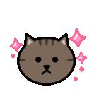 かわいいキジトラ猫の顔(個別スタンプ:06)