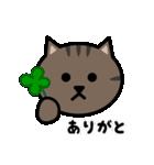 かわいいキジトラ猫の顔(個別スタンプ:11)