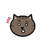 かわいいキジトラ猫の顔(個別スタンプ:22)