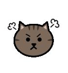 かわいいキジトラ猫の顔(個別スタンプ:29)