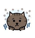 かわいいキジトラ猫の顔(個別スタンプ:32)