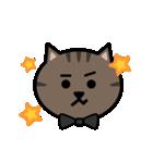 かわいいキジトラ猫の顔(個別スタンプ:35)