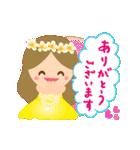 動く♪オリオリ☆フラガールズ(個別スタンプ:7)