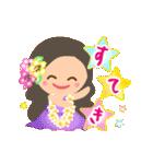 動く♪オリオリ☆フラガールズ(個別スタンプ:13)