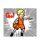 バスケットボールプレーヤー(個別スタンプ:03)