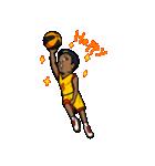 バスケットボールプレーヤー(個別スタンプ:04)