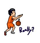 バスケットボールプレーヤー(個別スタンプ:05)