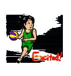 バスケットボールプレーヤー(個別スタンプ:06)