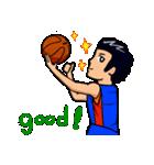 バスケットボールプレーヤー(個別スタンプ:08)