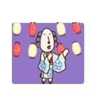 動く!くるりん子さんの夏(個別スタンプ:6)