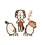 動く!くるりん子さんの夏(個別スタンプ:23)