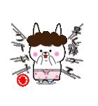 ゆるウサ☆母専用スタンプ(個別スタンプ:18)
