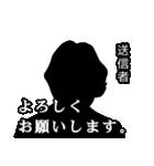 直撃取材風スタンプ3(個別スタンプ:03)