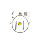 ほんわかタマゴ鳥(個別スタンプ:10)