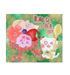 すいーつにゃんこ ~夏~(個別スタンプ:01)